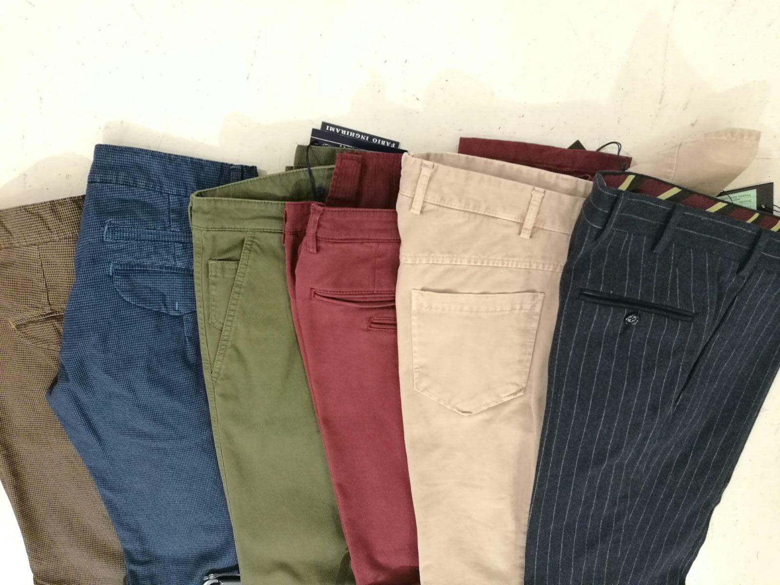 Pantaloni da € 85,00 a € 95,00